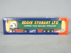 Tekno - A boxed Tekno diecast 1:50 scale #50 ERF 'Eddie Stobart' from 'The British Collection'.