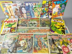 Marvel, DC Comics, Wildstorm, Others - A collection of over 20 bronze / modern age mainly UK comics.