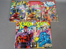 Marvel Comics - Five versions of Marvel's 'X-Men' Vol1 #1 Oct91.
