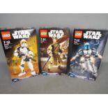 Lego, Star Wars - Three boxed Lego Star Wars sets.