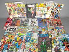 Marvel, DC Comics, Image,