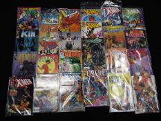 Marvel, Insight Studios, Top Cow, Wildstorm - A collection of 25 modern age comics,