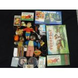 Lone Star, Crescent, Waddingtons, Other - A collection of vintage children's, toys,