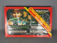Hornby - A boxed incomplete Hornby R176 Flying Scotsman Electric train set.