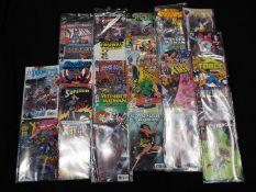 Image, DC Marvel, Americas Best Comics - A bibliography of 25 modern age comics,