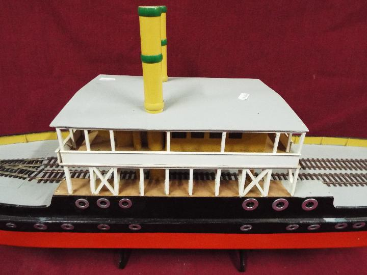 A scratch built model of a Norwegian ferry boat, - Image 4 of 4