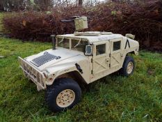 HG - HG P408 Humvee style with light and sound Function 1/10 scale 2.4G 4WD 16CH 30km/h Rc Model U.