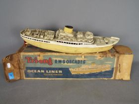 Triang - A boxed Triang electric Ocean Liner RMS Orcades.