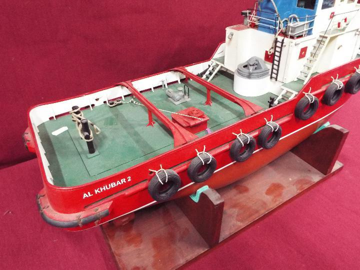 Model Slipway - A kit-built tug boat 'Al Kubar 2' by Model Slipway. - Image 3 of 6