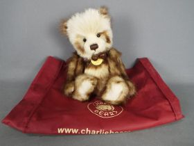 Charlie Bears - A Charlie Bears soft toy teddy bear 'Pam' # CB194758, designed by Isabelle Lee,