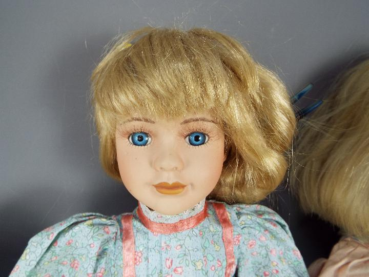 A vinyl dressed doll of a young girl likely by Waltershauser Puppenmanufaktur, - Image 5 of 5