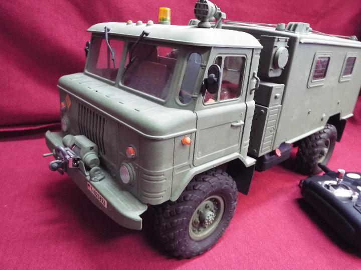 The All New GC4M Kit Scaled at 1/10Military Command Vehicle CrossRC - 4WD Command vehicle. - Image 2 of 10