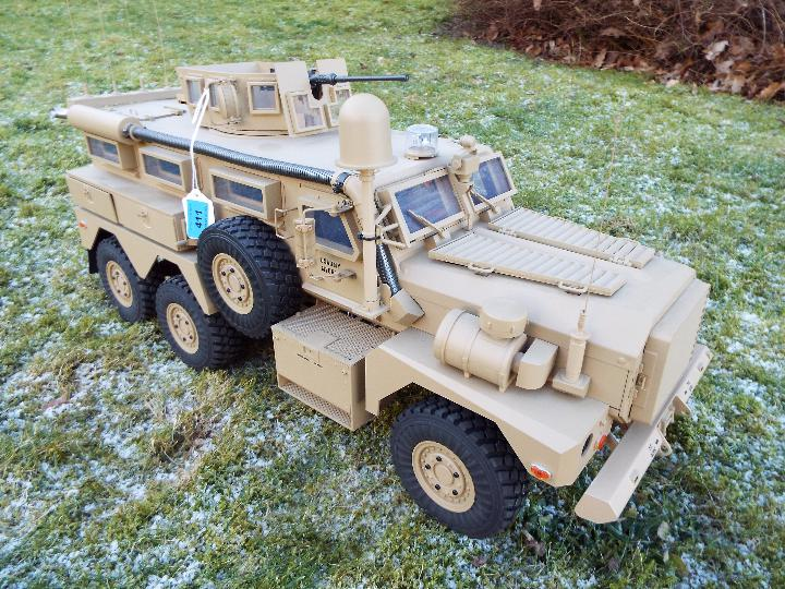 HG -RC MRAP COUGAR U.S. Military Vehicle 6X6 HG P602 1/12 2.4G 6WD 16CH ARTR 2. - Image 7 of 12