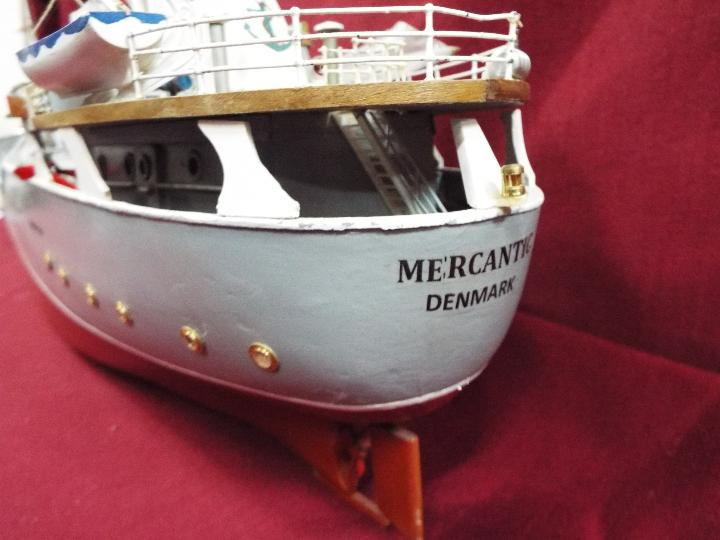 Billing Boats (Denmark) - A built Billings Boat model of a Dutch Coaster 'Mercantic'. - Image 4 of 6