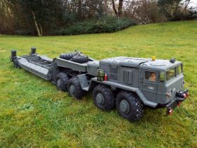 Crossrc - BC8 Mammoth 1/12 Scale 8x8 Off Road Military Truck with Croosrc T247 Transporter Trailer