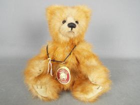 Charlie Bears - A Charlie Bear soft toy teddy bear 'Alice' # CB094079B, designed by Isabelle Lee,