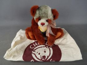 Charlie Bears - A Charlie Bears soft toy teddy bear 'Ruby' # CB094080A, designed by Isabelle Lee,