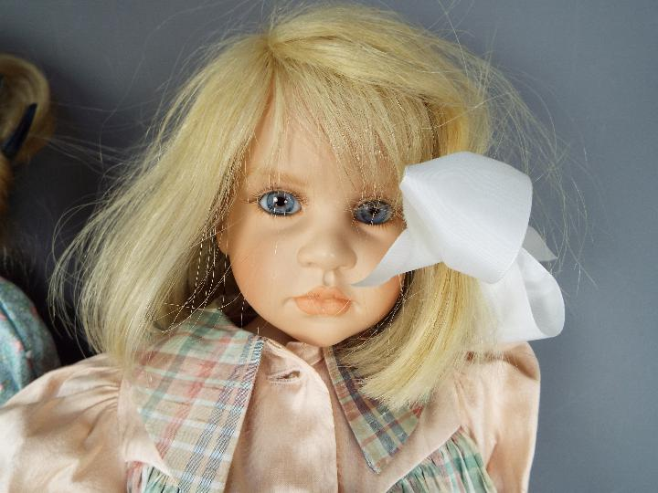 A vinyl dressed doll of a young girl likely by Waltershauser Puppenmanufaktur, - Image 3 of 5