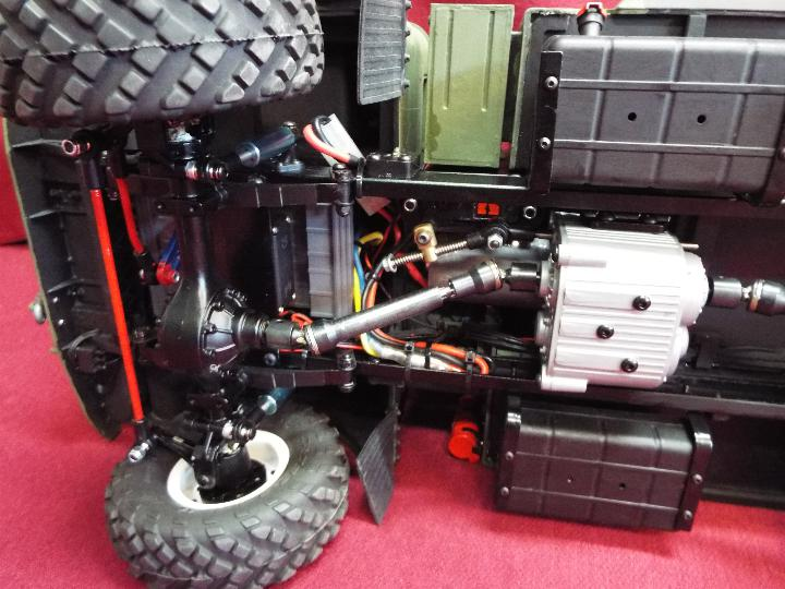 The All New GC4M Kit Scaled at 1/10Military Command Vehicle CrossRC - 4WD Command vehicle. - Image 9 of 10