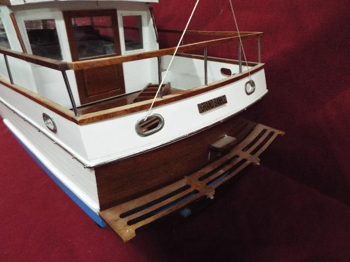 A 'Grand Banks 32' static model yacht. - Image 6 of 6
