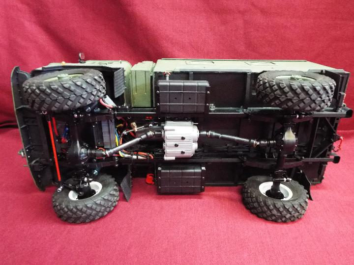 The All New GC4M Kit Scaled at 1/10Military Command Vehicle CrossRC - 4WD Command vehicle. - Image 8 of 10