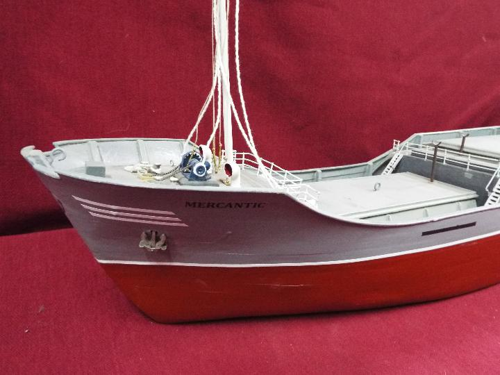 Billing Boats (Denmark) - A built Billings Boat model of a Dutch Coaster 'Mercantic'. - Image 3 of 6