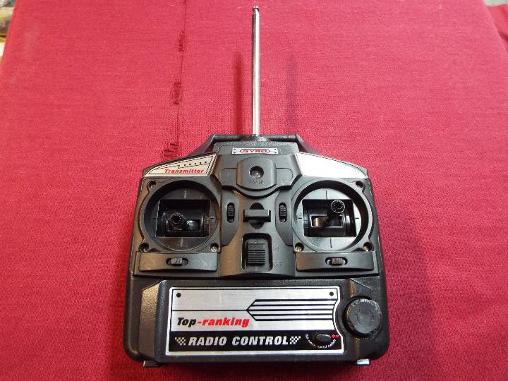Gyro - A Gyro unboxed 'Top Ranking' Radio Transmitter / Control unit. 3 Channel. 27 MHz.