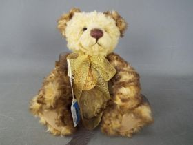 Charlie Bears - A Charlie Bears soft toy teddy bear # CB094093 'Evie' designed by Isabelle Lee,