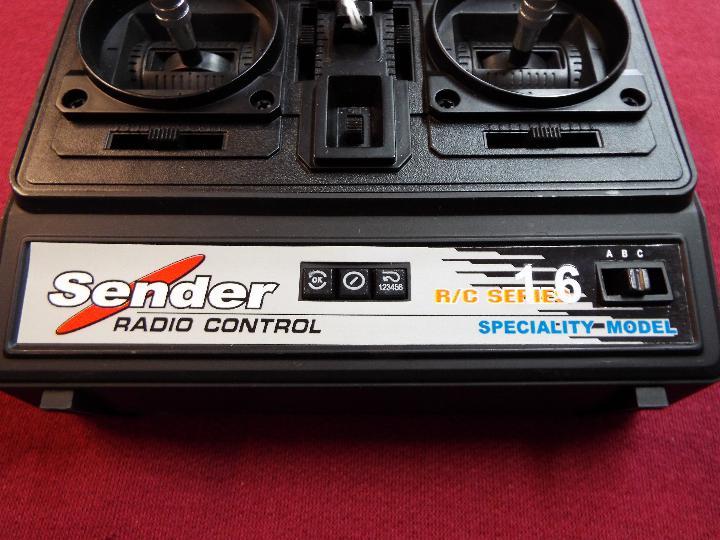 Sender - radio control transmitter (27. - Image 4 of 4