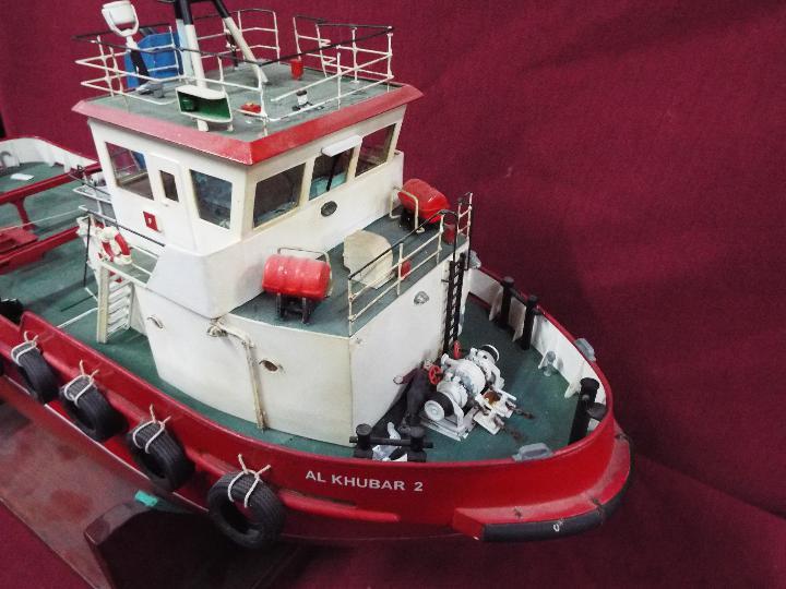 Model Slipway - A kit-built tug boat 'Al Kubar 2' by Model Slipway. - Image 5 of 6