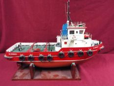 Model Slipway - A kit-built tug boat 'Al Kubar 2' by Model Slipway.