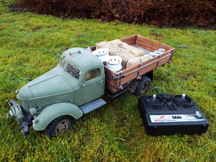King Kong - RC CA10 1/12 scale tractor truck model was originally based on the American