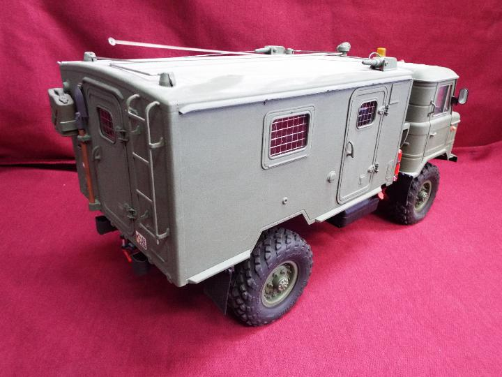 The All New GC4M Kit Scaled at 1/10Military Command Vehicle CrossRC - 4WD Command vehicle. - Image 5 of 10
