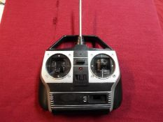 Remote control transmitter.