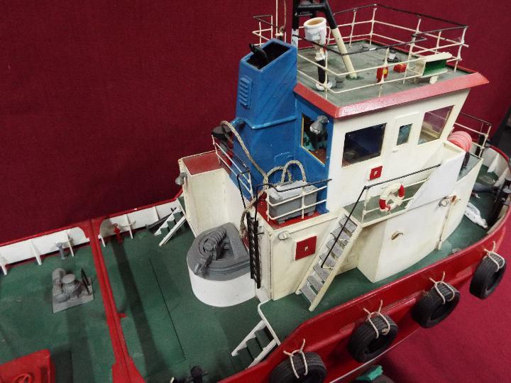 Model Slipway - A kit-built tug boat 'Al Kubar 2' by Model Slipway. - Image 4 of 6