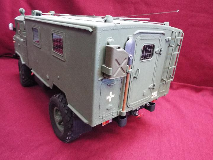 The All New GC4M Kit Scaled at 1/10Military Command Vehicle CrossRC - 4WD Command vehicle. - Image 6 of 10