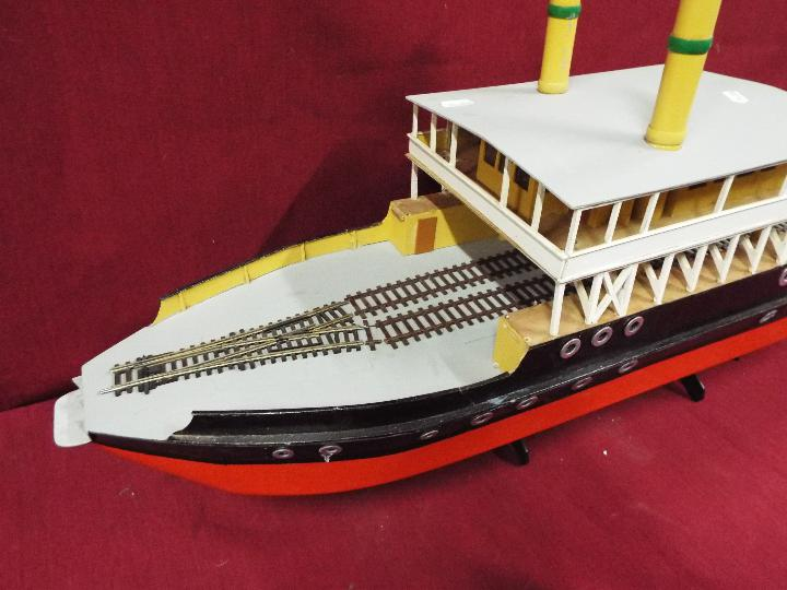 A scratch built model of a Norwegian ferry boat, - Image 2 of 4