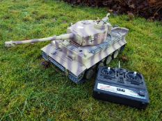 Heng Long - RC Tiger tank I 1:16 Advanced Line IR/BB with 6mm Shooting System + infrared battle