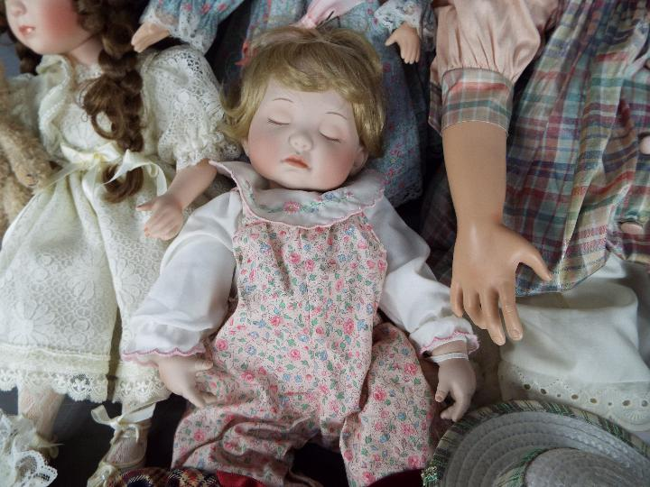 A vinyl dressed doll of a young girl likely by Waltershauser Puppenmanufaktur, - Image 2 of 5