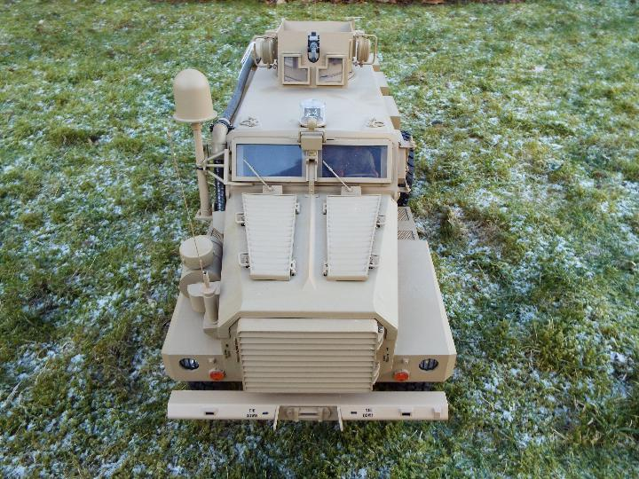 HG -RC MRAP COUGAR U.S. Military Vehicle 6X6 HG P602 1/12 2.4G 6WD 16CH ARTR 2. - Image 5 of 12
