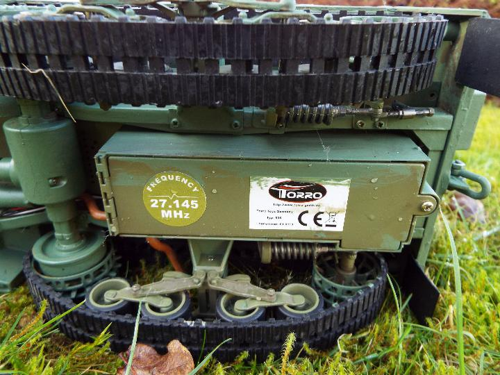 Torro - M16 half track-laying vehicle in US army WW2 livery. - Image 7 of 9