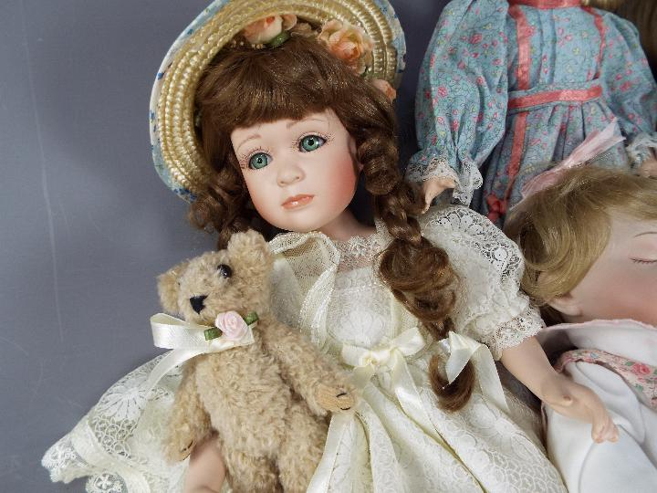 A vinyl dressed doll of a young girl likely by Waltershauser Puppenmanufaktur, - Image 4 of 5