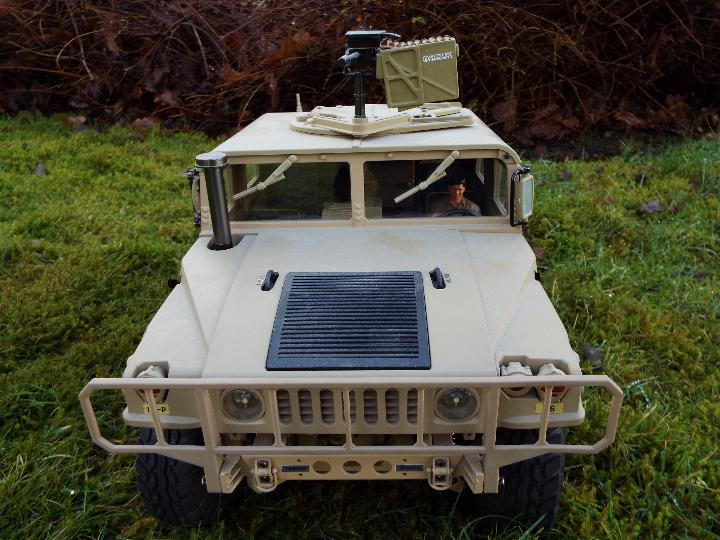 HG - HG P408 Humvee style with light and sound Function 1/10 scale 2.4G 4WD 16CH 30km/h Rc Model U. - Image 2 of 10