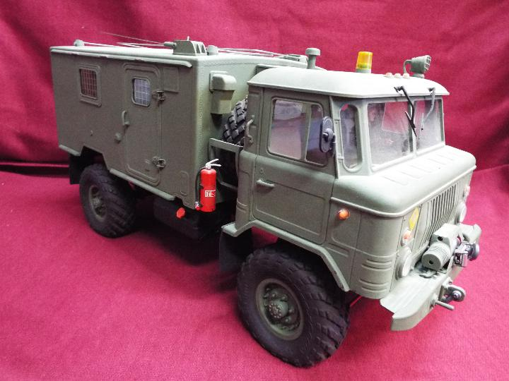 The All New GC4M Kit Scaled at 1/10Military Command Vehicle CrossRC - 4WD Command vehicle. - Image 4 of 10