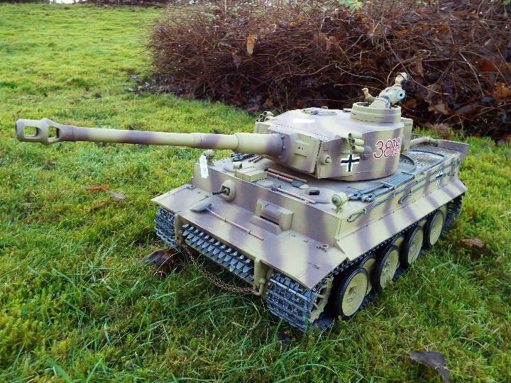 Heng Long - RC Tiger tank I 1:16 Advanced Line IR/BB with 6mm Shooting System + infrared battle - Image 2 of 8