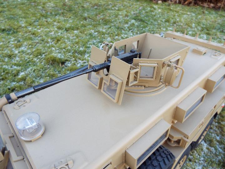 HG -RC MRAP COUGAR U.S. Military Vehicle 6X6 HG P602 1/12 2.4G 6WD 16CH ARTR 2. - Image 3 of 12