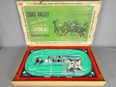 Chad Valley - Vibra Horse Race Game in Good condition.