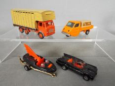 Corgi Juniors, Budgie Toys - A mixed collection of unboxed diecast vehicles.