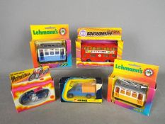 Corgi Toys, Zylmex, Lehmann - A collection of boxed diecast and plastic vehicles.