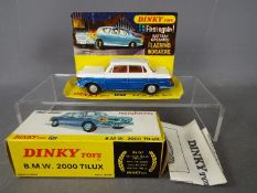 Dinky Toys - a boxed Dinky Toys #157 BMW 2000 Tilux.